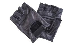leather driving gloves - stock photo