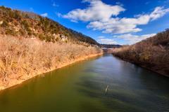 Kentucky river palisades Stock Photos