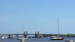 St augustine traffic Stock Footage