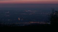 4K Budapest Hungary Aerial Sunrise 1 timelapse Stock Footage