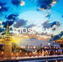 Stock Illustration of word moscow and moscow kremlin in the early morning