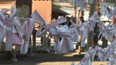 Yasukuni temple Stock Footage