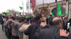 Ashura, Iran Stock Footage