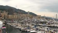 Stock Video Footage of Yacht with Helicopter in Monaco Monte Carlo