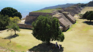 Stock Video Footage of Pyramids of monte alban