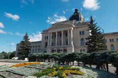 Saskatchewan Provincial Government building - stock photo