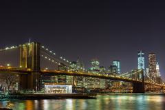 Brooklyn Bridge and New York City Stock Photos