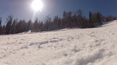 Winter activities Stock Footage
