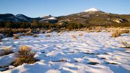 Stock Photo of high mountain peak great basin region nevada landscape