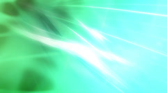 Flowing Green energy Backdrop Sparkles Loop Stock Footage