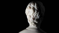 Greek philosopher Socrates - stock footage
