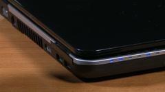 Plug Unplug USB on Laptop 2 - stock footage