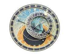 Prague orloj - stock photo
