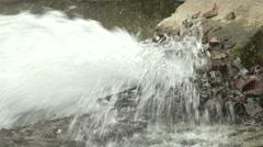 Sewage Water Flowing 6 Stock Footage