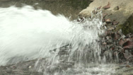 Stock Video Footage of Sewage Water Flowing 6