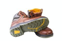 Men's boots Stock Photos