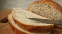 Delicious Bread Stock Footage