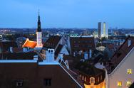 Stock Photo of late winter afternoon in tallinn