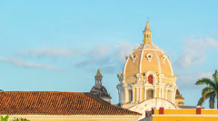 Cartagena Time Lapse Stock Footage
