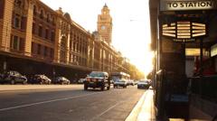 059 CITY CENTRE STREET, CARS2 Stock Footage