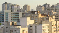 Decadent Residential buildings in Brazil Stock Footage