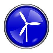 Windmill icon Stock Illustration