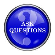 Stock Illustration of ask questions icon