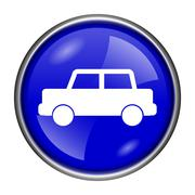 car icon - stock illustration