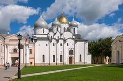 Stock Photo of saint sophia cathedral at novgorod kremlin