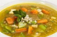 Stock Photo of vegetable soup