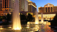 Stock Video Footage of Caesars Palace of Las Vegas