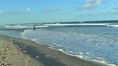 Surf in Paradise - stock footage