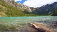 Stock Video Footage of Avalanche Lake in Glacier National Park