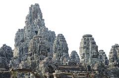 Bayon in angkor, cambodia Stock Photos