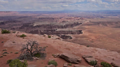 Stock Video Footage of canyonlands overlook moab utah national park 4