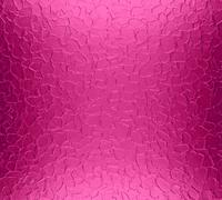 Hot pink metal plate texture background - stock photo