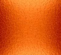 Orange metal plate texture background Stock Photos
