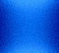 Cool blue metal plate texture background - stock photo