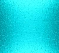 Turquoise metal plate texture background - stock photo