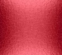Red metal plate texture background - stock photo