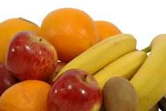 pile of fruits - stock photo