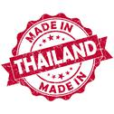 Stock Illustration of made in thailand red grunge seal