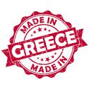 Stock Illustration of made in greece grunge seal
