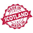 Stock Illustration of made in scotland grunge seal