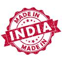 Stock Illustration of made in india grunge seal