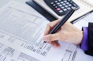 Stock Photo of finance and accounting business