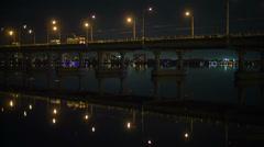 night city - stock footage