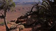 Stock Video Footage of canyonlands overlook moab utah national park 1