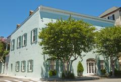 charleston  house - stock photo