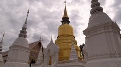 Wat Suan Dok, Chiang Mai, Thailand, HD 1080p Stock Footage